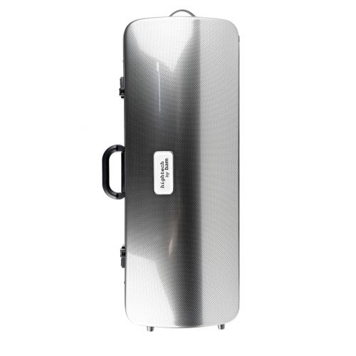 BAM HIGHTECH OBLONG CASE WITHOUT POCKET - SILVER CARBON LOOK