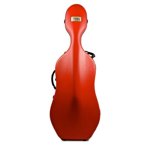 BAM CLASSIC CELLO CASE WITHOUT WHEELS - RED