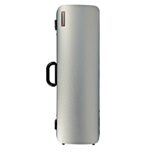 BAM HIGHTECH OBLONG VIOLIN CASE WITHOUT POCKET - METALLIC SILVER