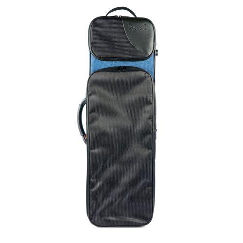 BAM CLASSIC 3/4 1/2 VIOLIN CASE - BLUE & BLACK