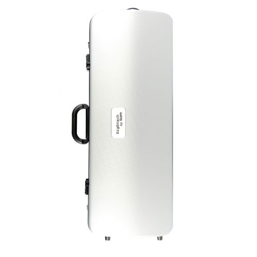 BAM HIGHTECH OBLONG VIOLA CASE WITHOUT POCKET - METALLIC SILVER