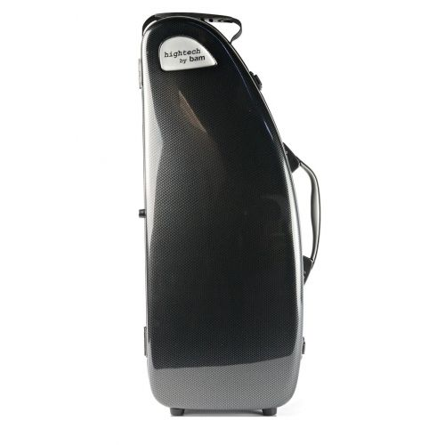 BAM HIGHTECH ALTO SAXOPHONE CASE WITHOUT POCKET - BLACK CARBON LOOK