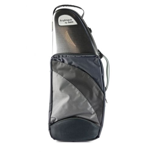 BAM HIGHTECH ALTO SAXOPHONE CASE WITH POCKET - TWEED