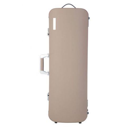 BAM L'ETOILE HIGHTECH OBLONG VIOLA CASE - GREIGE