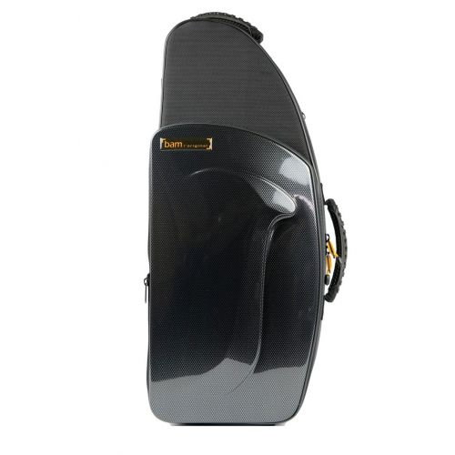 BAM NEW TREKKING ALTO SAXOPHONE CASE - BLACK CARBON LOOK