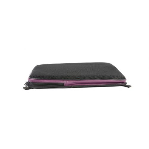 BAM BACK CUSHION WITH POCKET, L'ETOILE OBLONG VIOLIN OR VIOLA CASE VIOLET