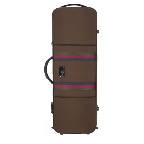 BAM SAINT GERMAIN STYLUS OBLONG VIOLA CASE - 40 CM - CHOCOLATE