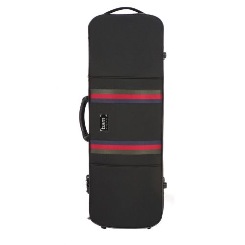 BAM SAINT GERMAIN STYLUS OBLONG VIOLA CASE - 41.5 CM - BLACK