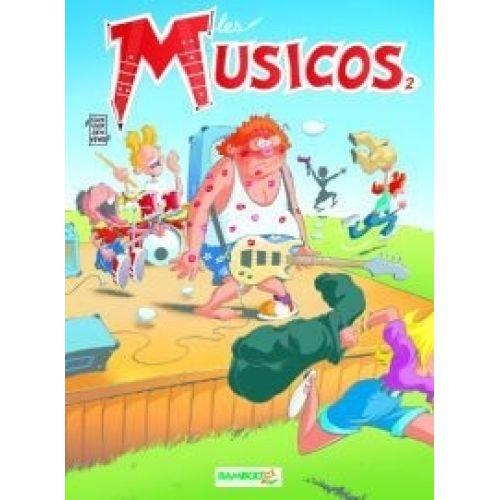 ROBERT MARTIN JANVIER M. - LES MUSICOS TOME 2