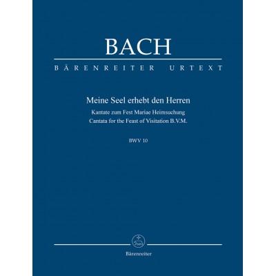 BARENREITER BACH J.S. - NOW MY SOUL EXALTS THE LORD BWV 10 - SCORE