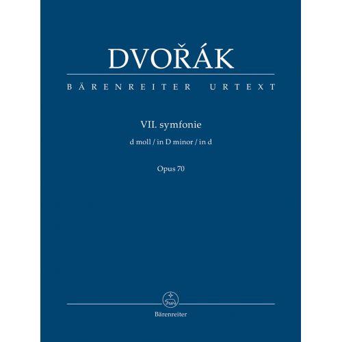 BARENREITER DVORAK A. - SYMPHONY No.7 D MINOR OP.70 - SCORE