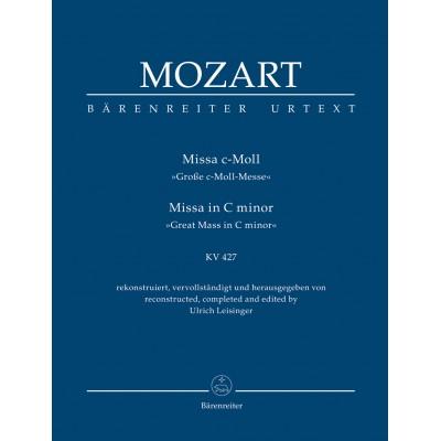 BARENREITER MOZART W.A. - MISSA IN C MINOR KV 427 - SCORE