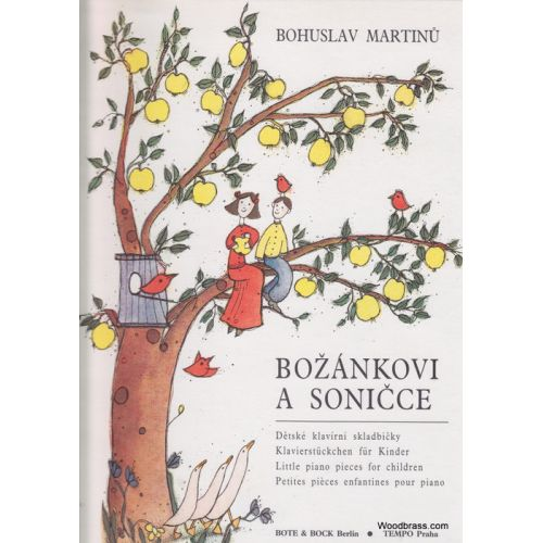 BOTE AND BOCK MARTINU BOHUSLAV - LITTLE PIANO PIECES FOR CHILDREN - PIANO
