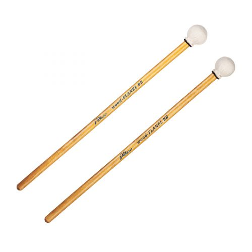 PALISSO BB CONCERT WOOD FLANNEL TIMPANI MALLETS