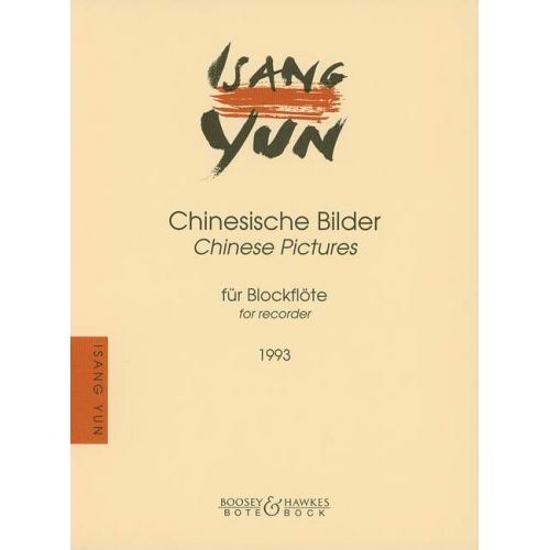 BOTE AND BOCK YUN ISANG - CHINESE PICTURES - RECORDER