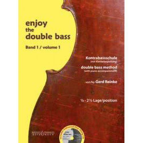 BOTE AND BOCK REINKE GERD - ENJOY THE DOUBLE BASS VOL.1 + CD - CONTREBASSE
