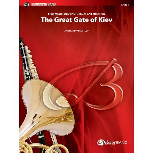 ALFRED PUBLISHING MOUSSORGSKY MODESTE - GREAT GATE OF KIEV - SYMPHONIC WIND BAND