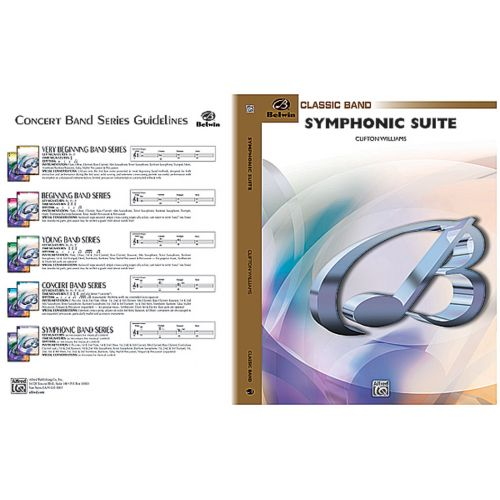 ALFRED PUBLISHING WILLIAMS CLIFTON - SYMPHONIC SUITE - SYMPHONIC WIND BAND