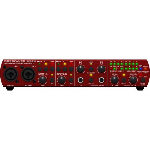 BEHRINGER FCA610 SOUND CARD USB/FIREWIRE