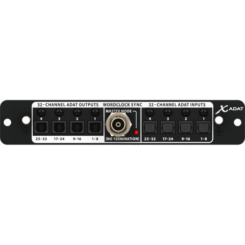 BEHRINGER X-ADAT - ADAT EXTENSION CARD FOR X32