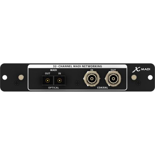 BEHRINGER X-MADI - MADI EXTENSION CARD FOR X32