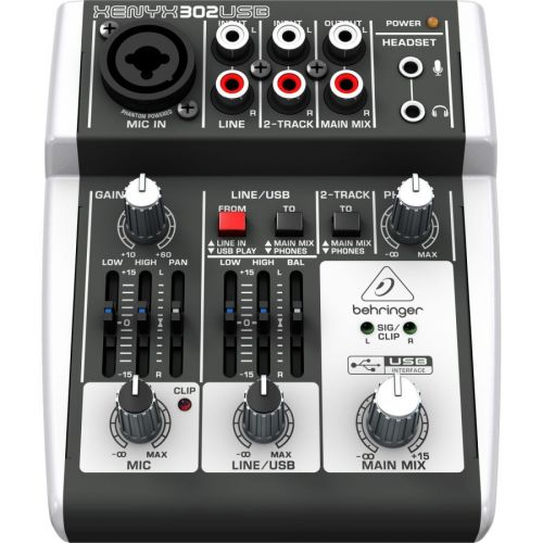 BEHRINGER XENYX 302USB CONSOLE