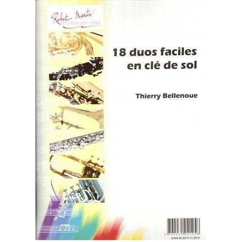 ROBERT MARTIN BELLENOUE T. - DIX HUIT DUOS FACILES