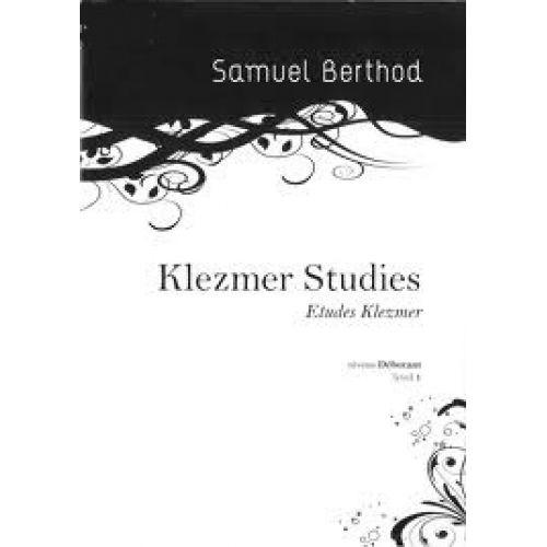SAMUEL BERTHOD BERTHOD S. - KLEZMER STUDIES - CLARINETTE