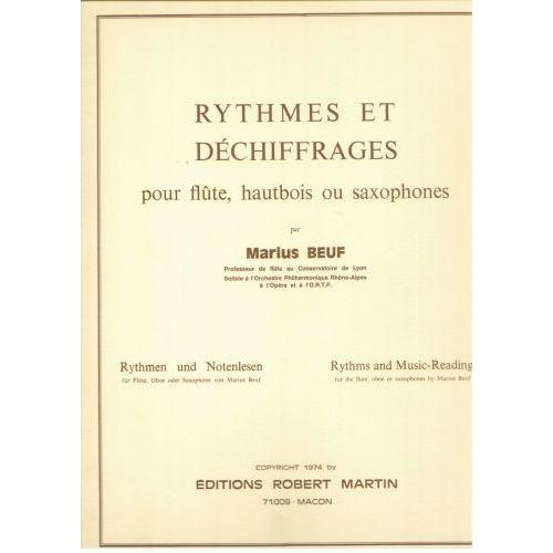 ROBERT MARTIN BEUF - RYTHMES ET DÉCHIFFRAGES