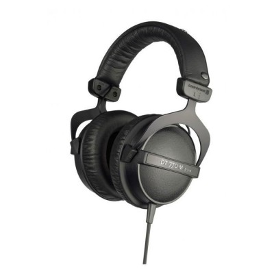 BEYERDYNAMIC DT770M MONITORING HEADPHONES ISOLATED 80 OHM . VOLUME CONTROL