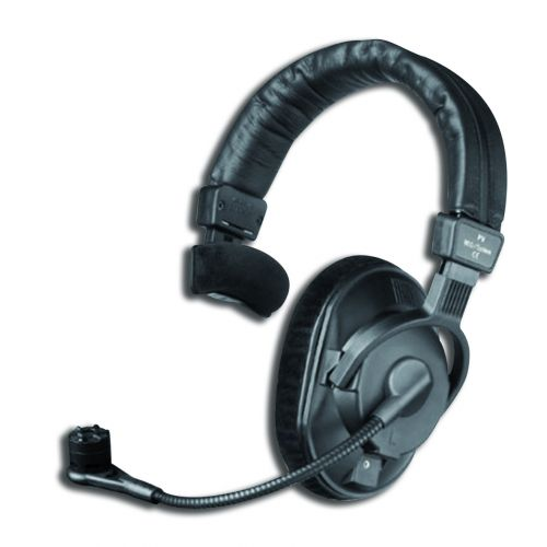 BEYERDYNAMIC  DT287PV -250- 1 MKII COMBINED HEADSET 250 ohms , MICRO ELECTRET CARDIOID WITHOUT CABLE