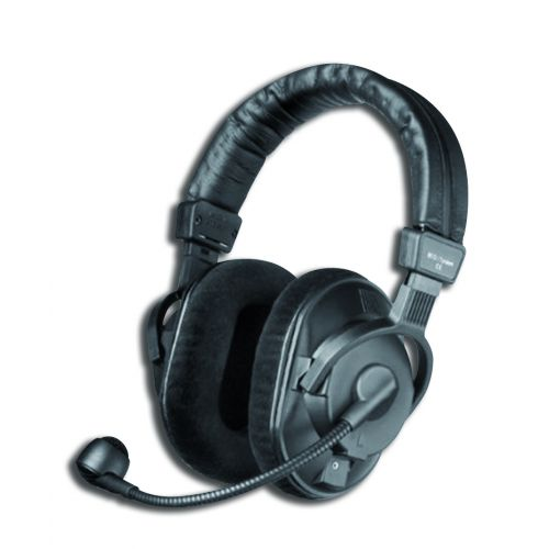 BEYERDYNAMIC  DT290 -250- 2 MKII COMBINED HEADSET 250 OHMS DYNAMIC MICROPHONE , hypercardioid , WITHOUT CABLE