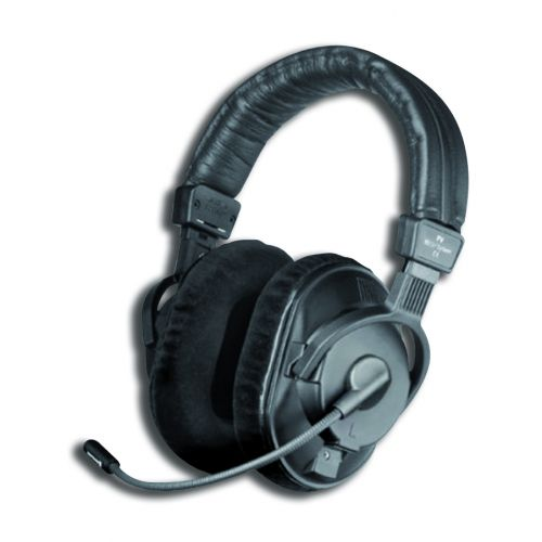 BEYERDYNAMIC DT291PV -250- 2 MKII COMBINED HEADSET 250 ohms , MICRO ELECTRET OMNI WITHOUT CABLE