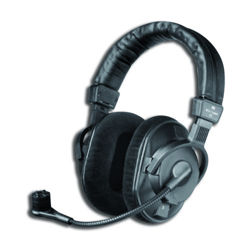 BEYERDYNAMIC DT297V.11 - 2 MKII COMBINED HEADSET 80 ohms , MICRO ELECTRET CARDIOID + PRE- AMPLIFIER WITHOUT CABLE