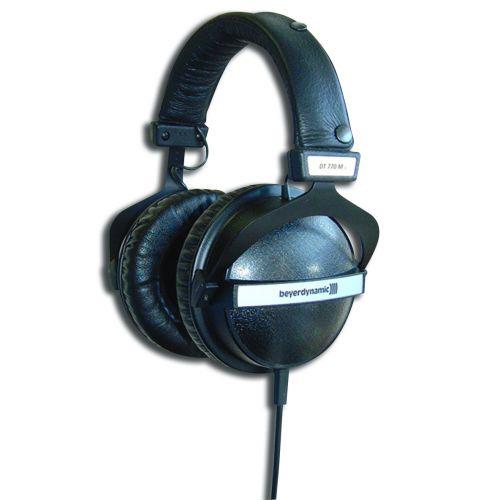 BEYERDYNAMIC DT770M MONITORING HEADPHONES ISOLATED 80 OHM . VOLUME CONTROL