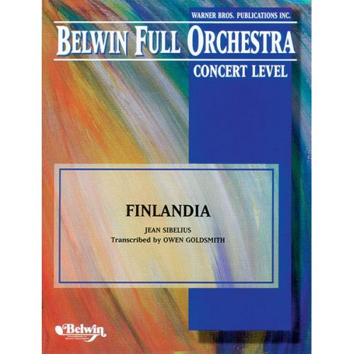 ALFRED PUBLISHING SIBELIUS JEAN - FINLANDIA - FULL ORCHESTRA