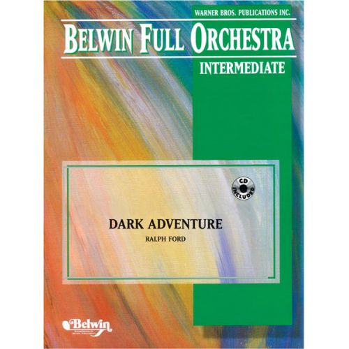 ALFRED PUBLISHING FORD RALPH - DARK ADVENTURE - FULL ORCHESTRA