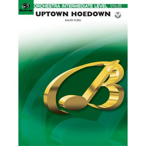 ALFRED PUBLISHING FORD RALPH - UPTOWN HOEDOWN - FLEXIBLE ORCHESTRA