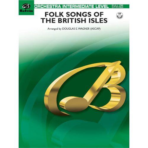 ALFRED PUBLISHING WAGNER DOUGLAS E. - FOLK SONGS/BRITISH ISLES - FLEXIBLE ORCHESTRA
