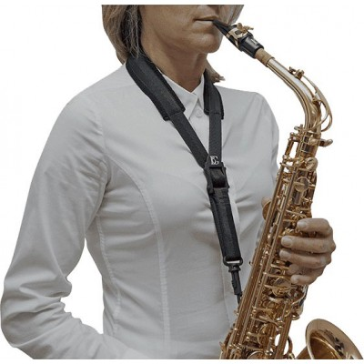 BG FRANCE S10SH - CORDON SAXOFON ALTO TENOR TAMANO L (SNAP HOOK)