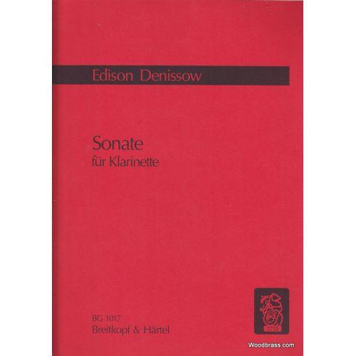 EDITION BREITKOPF DENISSOW EDISON - SONATE POUR CLARINETTE SEULE