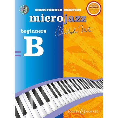 SCHOTT NORTON C. - MICROJAZZ FOR BEGINNERS (REPACKAGE) - PIANO