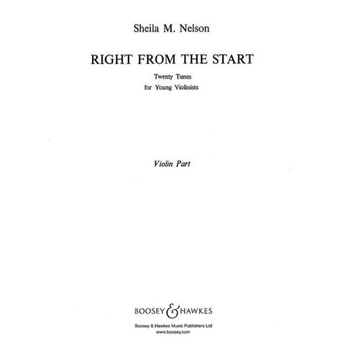 BOOSEY & HAWKES RIGHT FROM THE START - VIOLIN AND PIANO