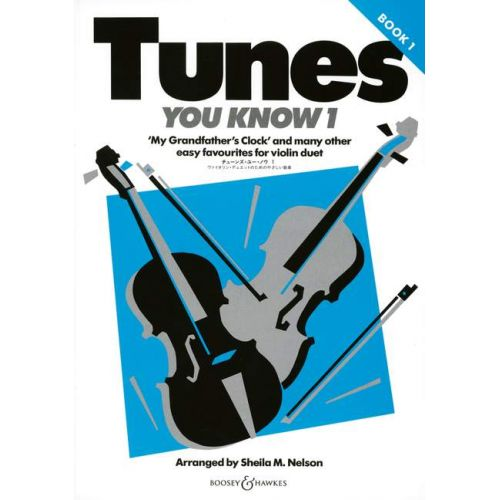 BOOSEY & HAWKES TUNES YOU KNOW VOL. 1 - 2 VIOLINS