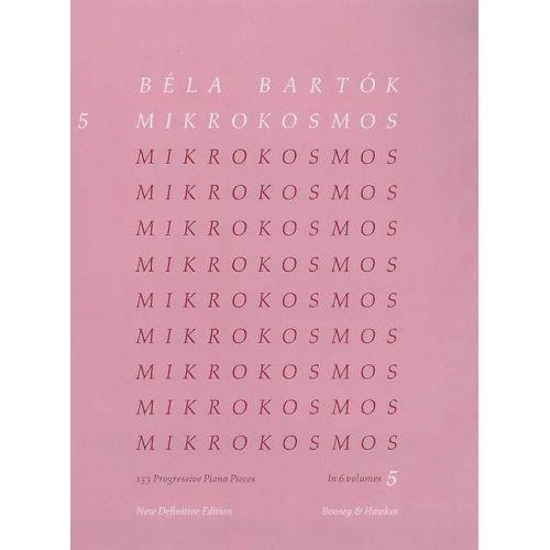 BOOSEY & HAWKES BARTOK BELA - MIKROKOSMOS VOL.5 - PIANO