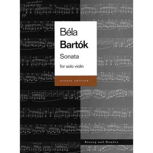 BOOSEY & HAWKES BARTOK BELA - SONATA - VIOLIN
