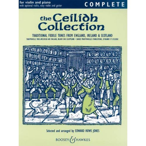 BOOSEY & HAWKES THE CEILIDH COLLECTION - VIOLIN AND PIANO, GUITAR AD LIB.