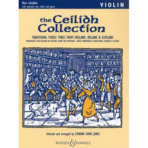 BOOSEY & HAWKES THE CEILIDH COLLECTION - VIOLIN , GUITAR AD LIB.