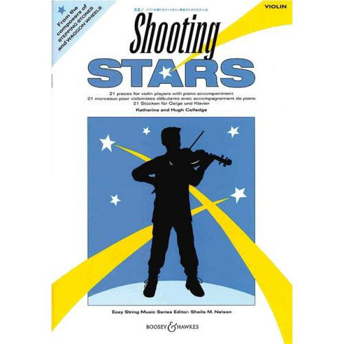 BOOSEY & HAWKES COLLEDGE K. / COLLEDGE H. - SHOOTING STARS - VIOLIN AND PIANO