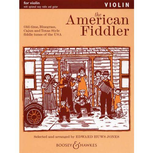 BOOSEY & HAWKES THE AMERICAN FIDDLER - VIOLIN , GUITAR AD LIB.